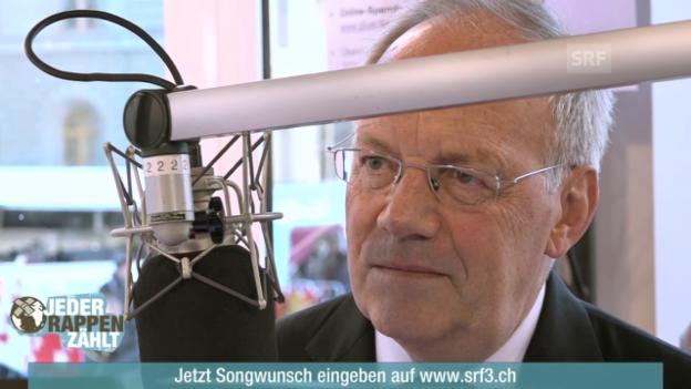 Video «Bundesrat Johann Schneider-Ammann in der Glasbox» abspielen