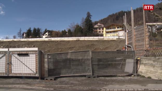 Laschar ir video «Project da hotel ed abitaziuns sin l'areal Engadinerhof è periclità»