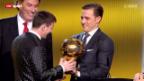 Video «Die Wahl zum Weltfussballer des Jahres 2012» abspielen