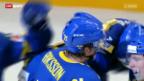 Video «Eishockey: Finnland - Schweden» abspielen