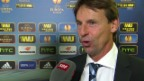 Video «Fussball: Europa League, YB-Bratislava, Interview Straka» abspielen