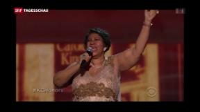 Video «Aretha Franklin stirbt 76-jährig» abspielen