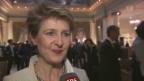 Video ««Swiss Press Award»: Simonetta Sommaruga in der Höhle des Löwen» abspielen