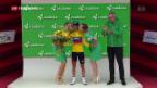 Video «Tour de Suisse: Porte weiter in Gelb» abspielen