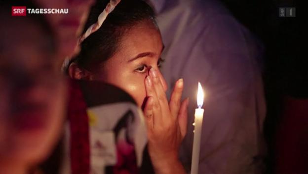 Video «Gedenkfeiern für die Tsunami-Opfer» abspielen