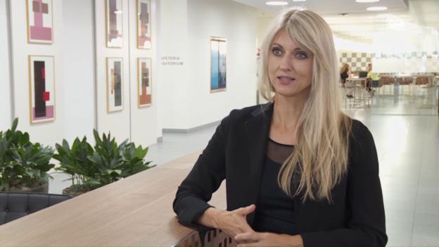 Video «Yvonne Seitz setzt sich bei AXA für flexible Arbeitsmodelle ein.» abspielen