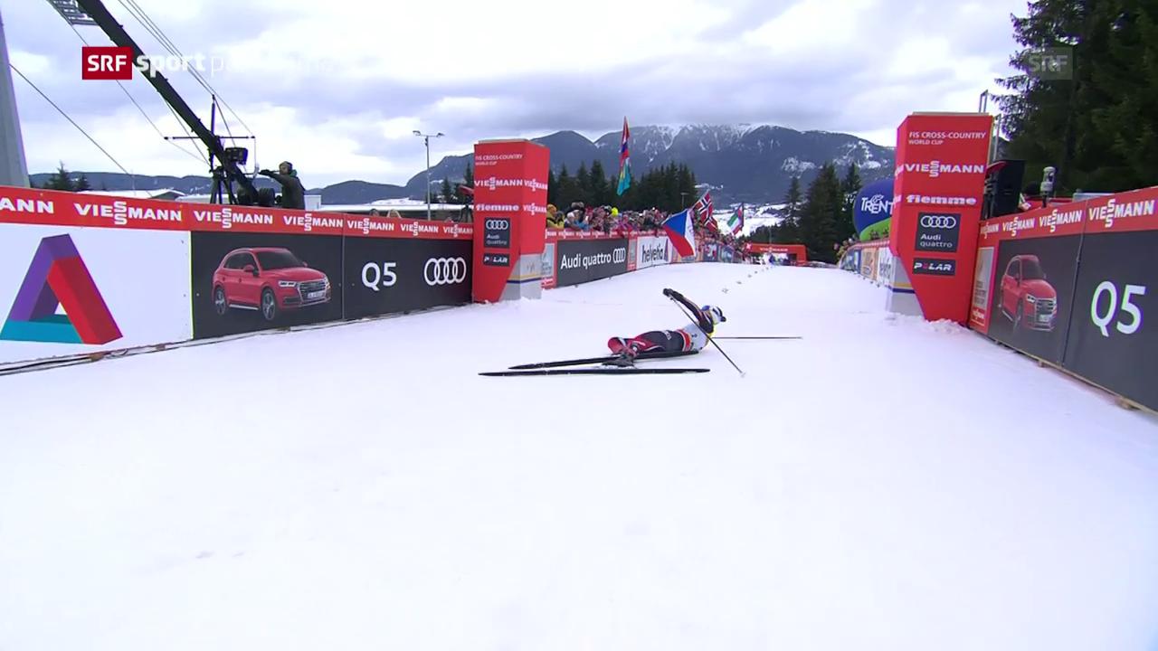 Heidi Weng verteidigt ihren Tour-de-Ski-Titel