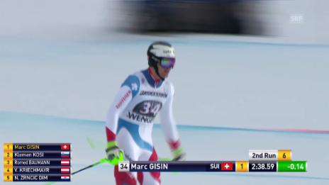 Video «Gisins Fahrt im Kombi-Slalom» abspielen