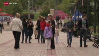 Video «Ostukraine vor dem Referendum» abspielen