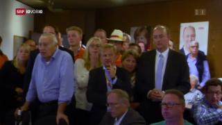 Video «CDU und SPD verdauen Verluste – Reportage aus Essen» abspielen