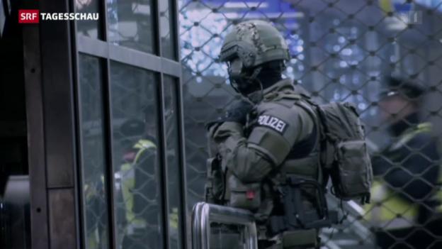 Video «München nach der Terrorwarnung» abspielen