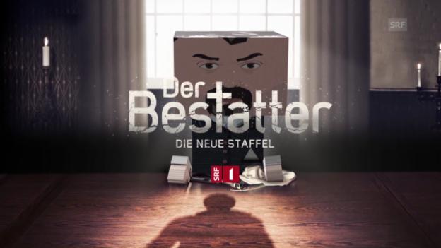 Video ««Der Bestatter»: Trailer mit Bastel-Luc» abspielen