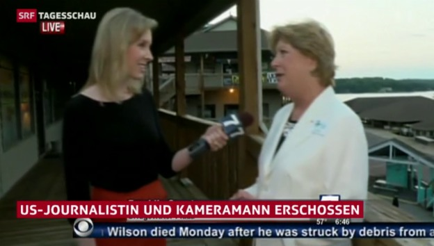 Video «Tödliche Schüsse auf TV-Reporter» abspielen
