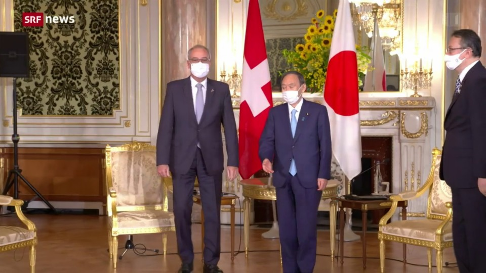 Parmelin trifft japanischen Premierminister Suga
