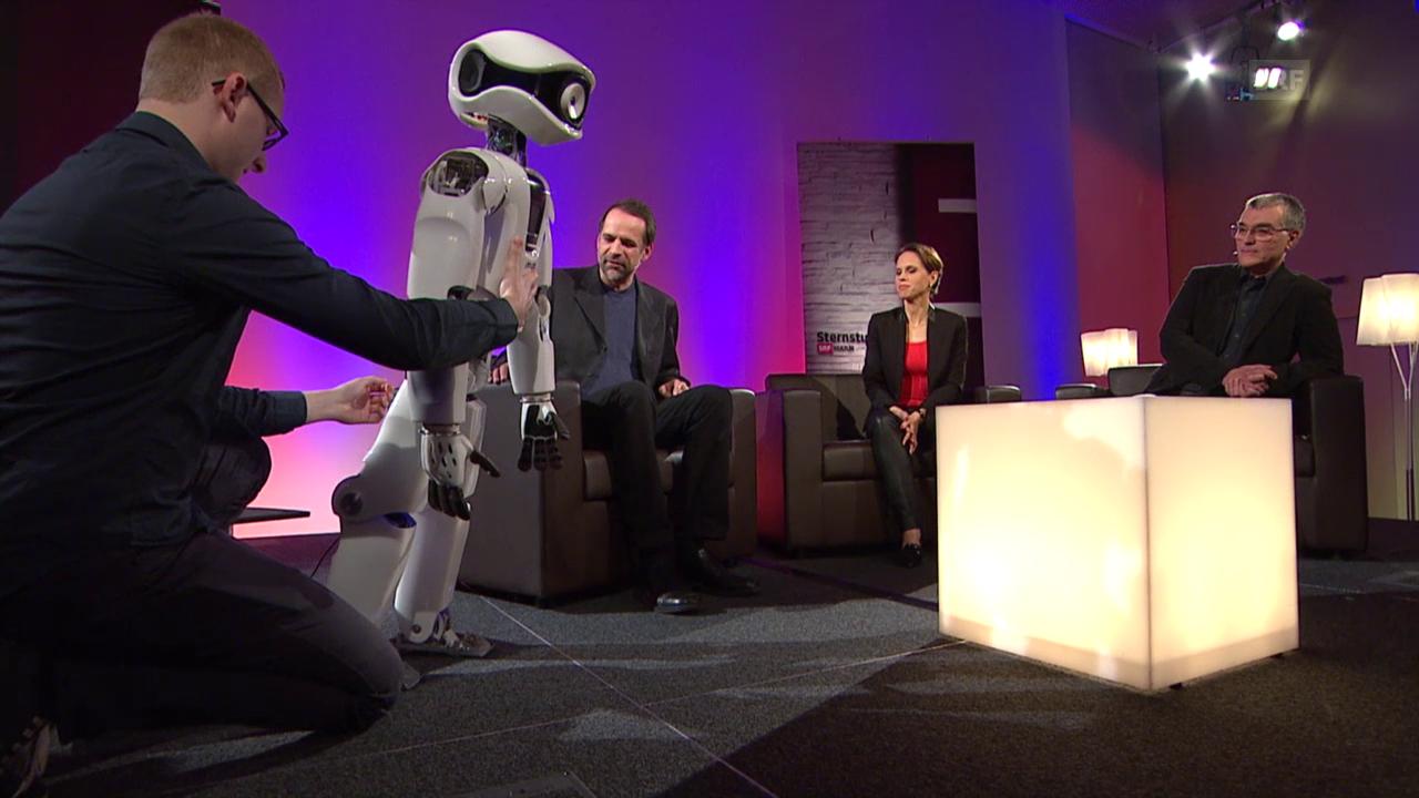 Mensch, Roboter! Wenn Maschinen zu denken beginnen