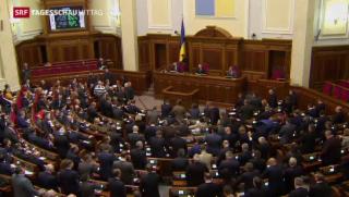 Video «Ukraine beschliesst Amnestie » abspielen