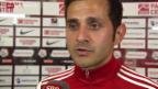 Video «Fussball: Super League, Thun - Sion Schiedsrichter San über die strittige Szene» abspielen