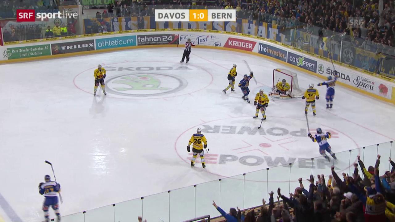Eishockey: Playoffs 2015, Davos-Bern