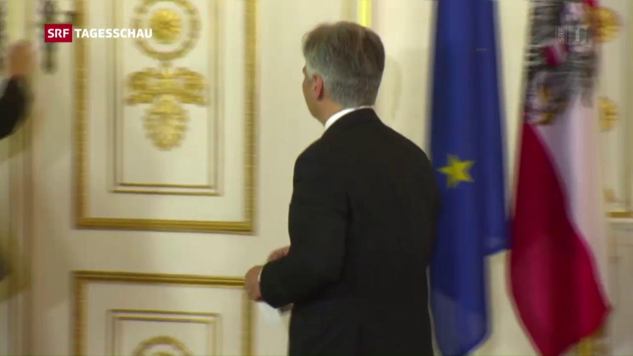 Rücktritt von Österreichs Regierungschef Faymann