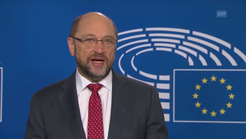 Martin Schulz, president dal parlament d'Europa, tar il president Trump: