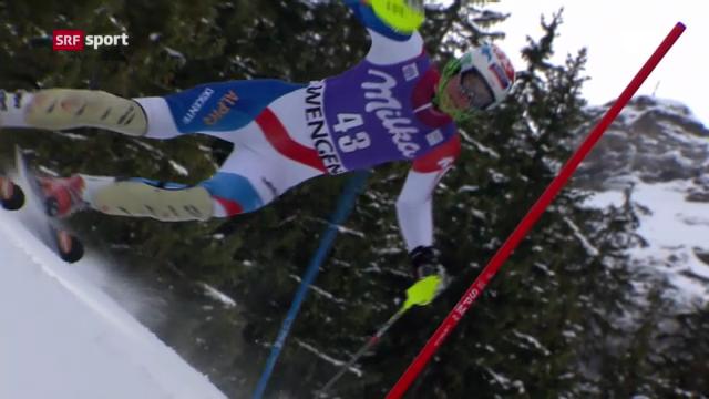Ski alpin: Ramon Zenhäusern überzeut in Wengen