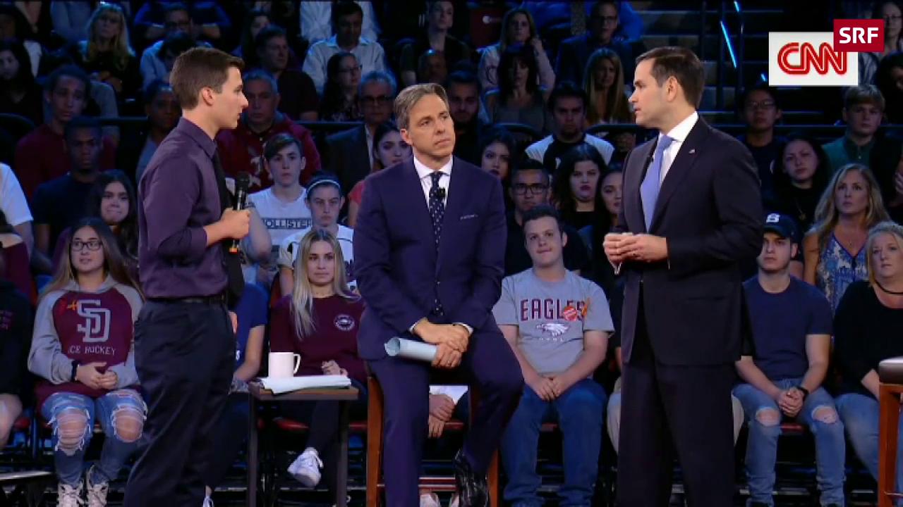 Diese Frage bringt Marco Rubio in Erklärungsnot