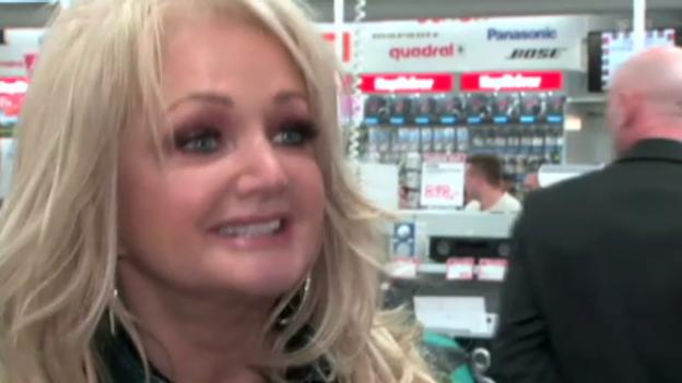 Video «Bonnie Tyler vertritt Grossbritannien am Eurovision Song Contest» abspielen