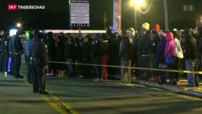 Video «Erneut schwarzer Teenager in den USA erschossen» abspielen