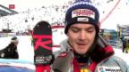 Video «Meillard auch im Slalom mit Podestpremiere» abspielen