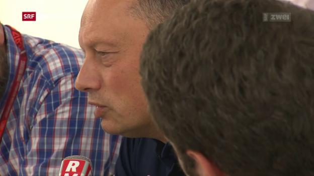 Video «Saubers neuer Teamchef Vasseur gibt Auskunft» abspielen