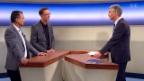 Video «Der Rücktritt II: Theke Philipp Müller und Michael Hermann» abspielen