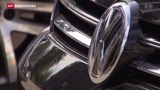 Video «Bis zu 2000 Klagen gegen VW» abspielen