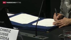 Video «Einigung im Steuerstreit mit der EU» abspielen