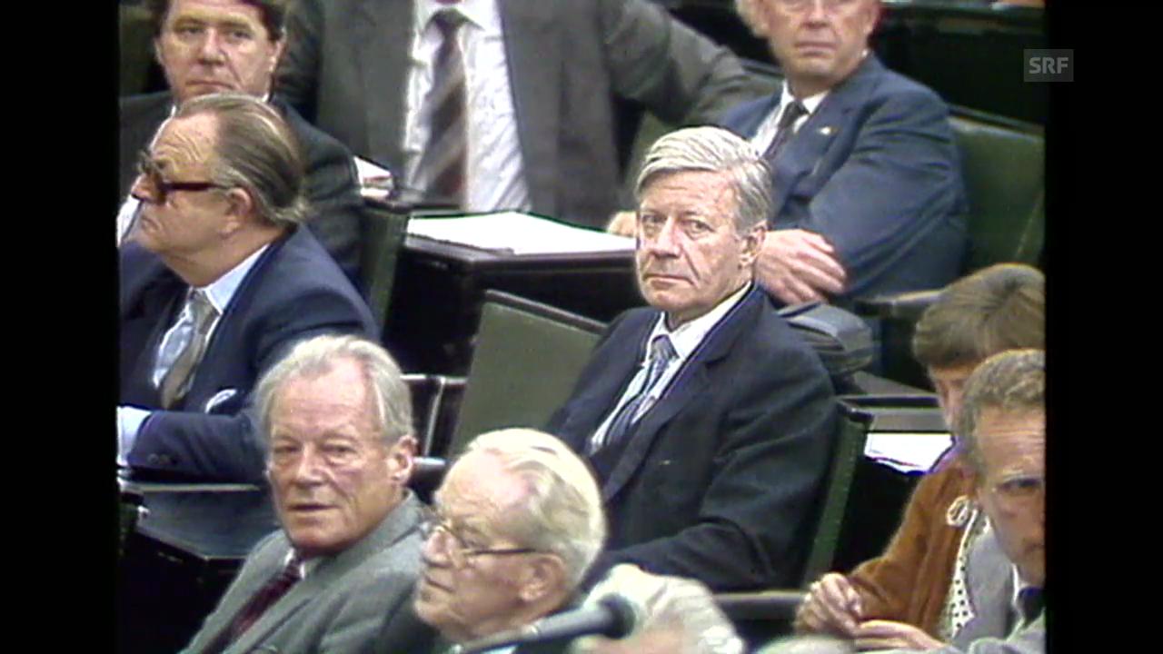 «Agenturmaterial Misstrauensvotum», 1.10.1982
