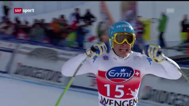 Ski alpin: Innerhofer gewinnt Lauberhorn-Abfahrt («sportaktuell»