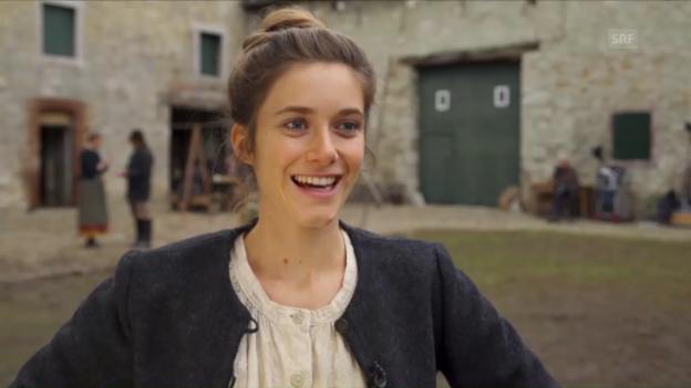 Video «Miriam Stein über ihre Rolle als Anna Tresch» abspielen