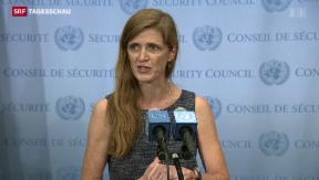 Video «Die USA machen Zugeständnisse» abspielen