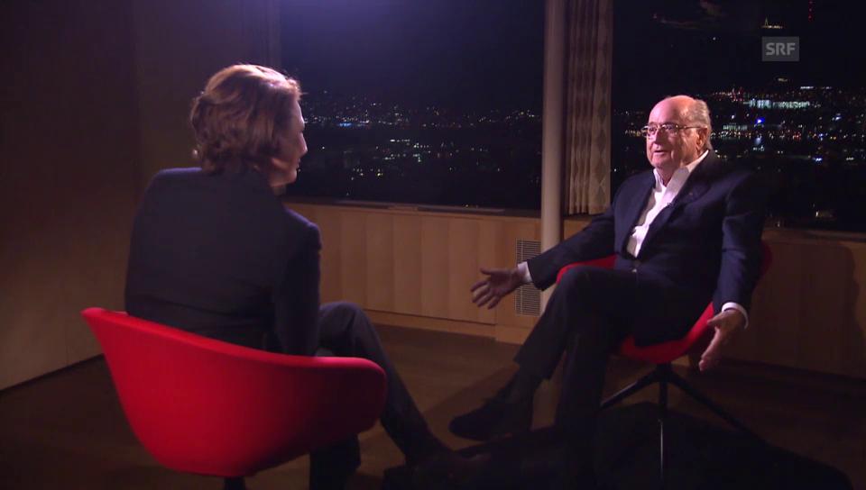 Joseph Blatter im Interview (französisch)