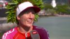 Video «Schweizerin gewinnt Ironman» abspielen