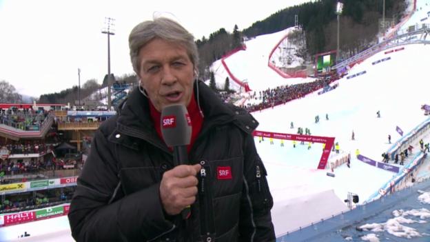 Video «Ski: Bernhard Russi über die Skimacht USA» abspielen