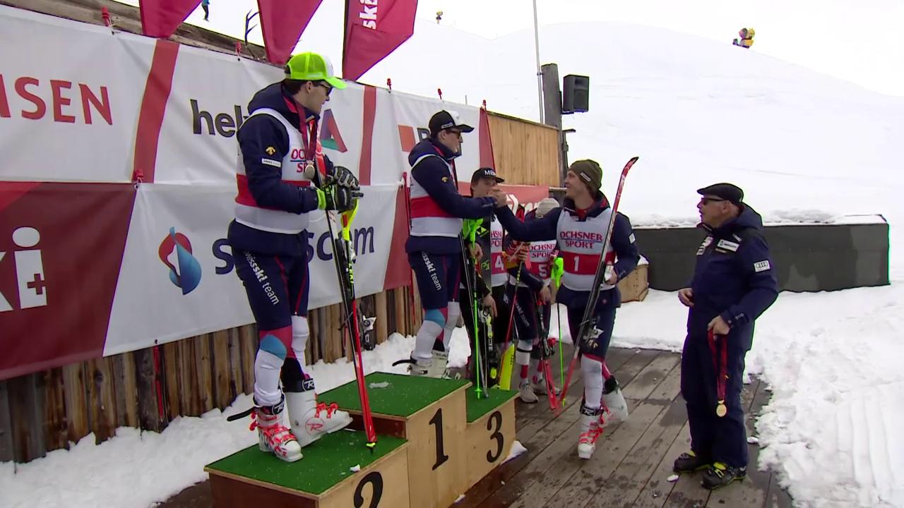 Simonet und Härri gewinnen alpine Kombination