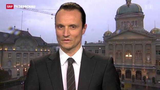 Video «Einschätzungen von Adrian Arnold im Bundeshaus» abspielen