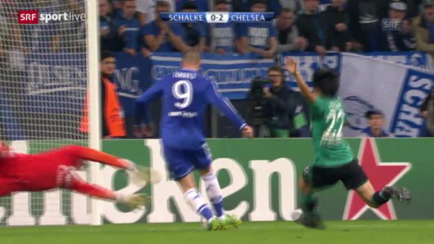 Video «Zusammenfassung Schalke - Chelsea («sportlive»)» abspielen