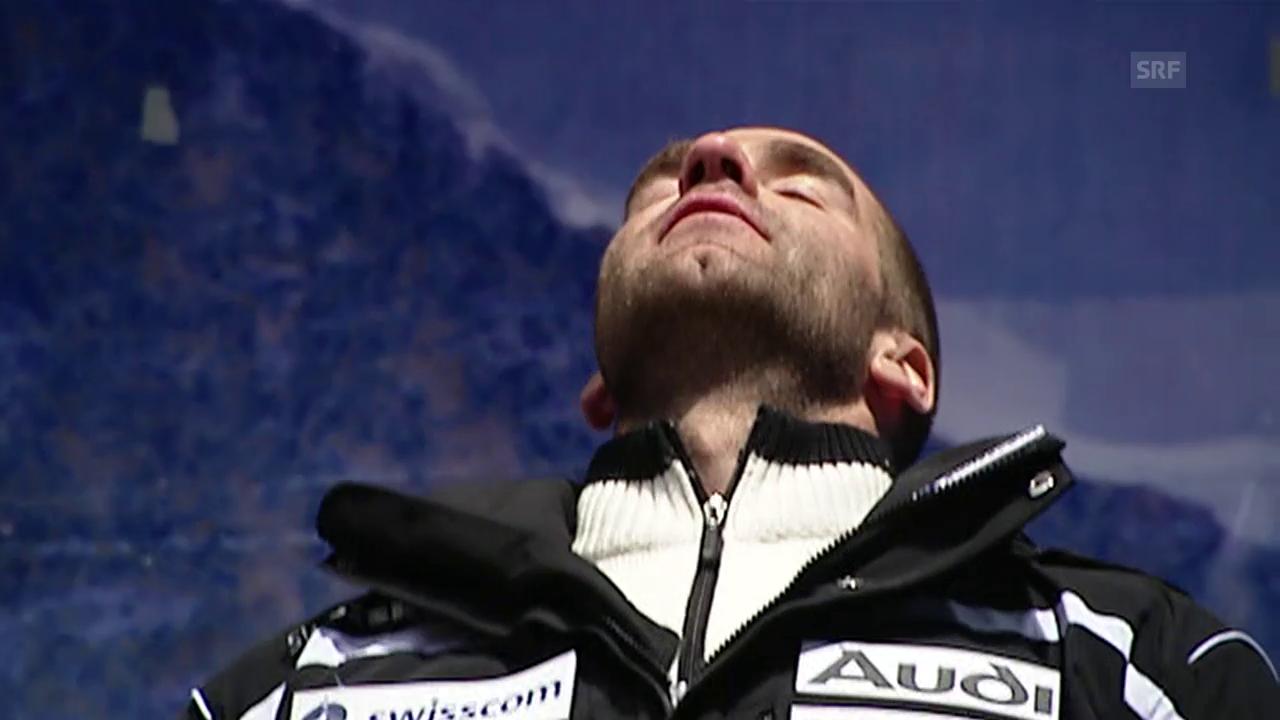 Rückblick auf Didier Défagos Siegesfahrt am Lauberhorn 2009