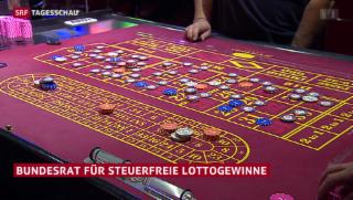 Video «Lotto-Gewinne könnten steuerfrei werden» abspielen