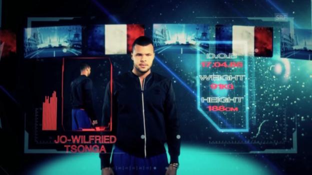 Video «Spieler-Porträt Jo-Wilfried Tsonga» abspielen