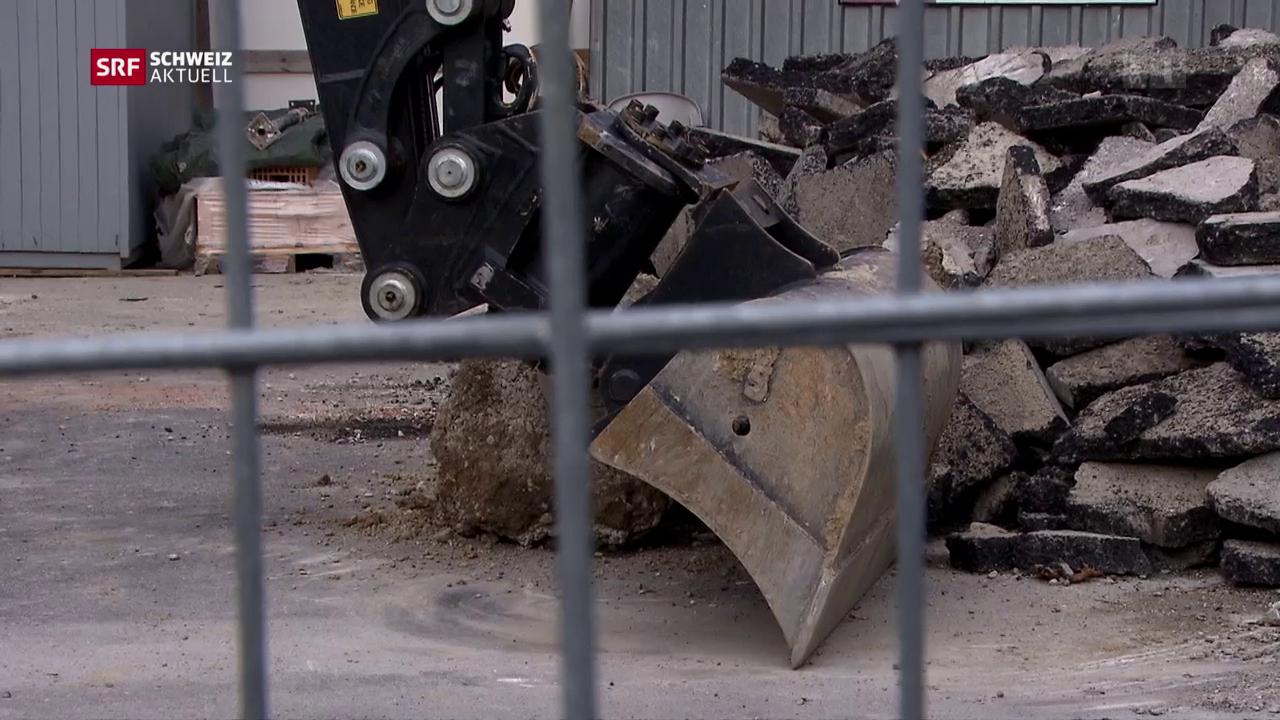Lohndumping-Vorwürfe auf Spital-Baustelle