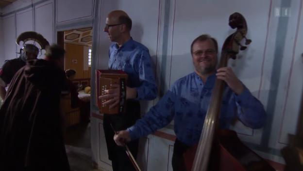 Video ««Schwyzerörgeli Quartett» spielt auf» abspielen