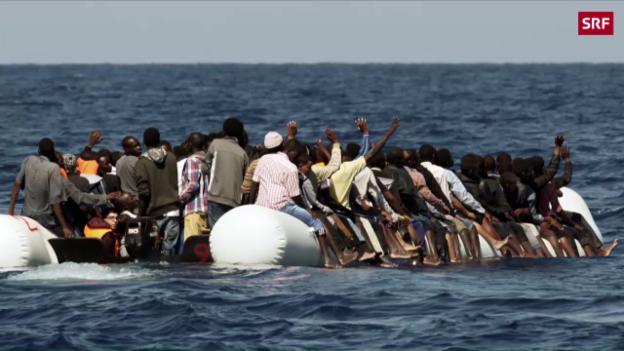 Video «Mittelmeer-Fluchtroute soll geschlossen werden» abspielen