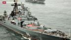 Video «Russland lässt seine militärischen Muskeln weiter spielen» abspielen